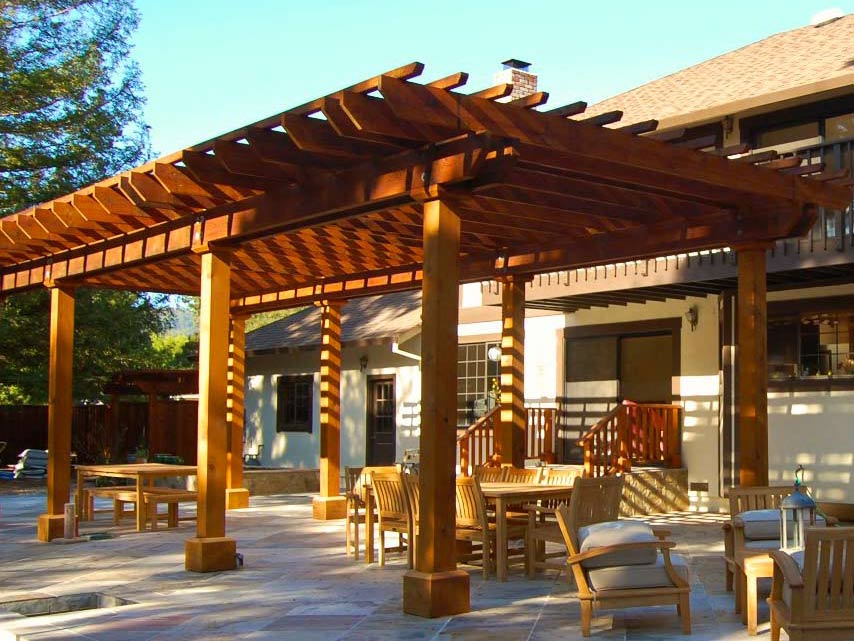 Garden Design With Patio Roof Design Golawuh With Winter Landscape From  Golawuh.top